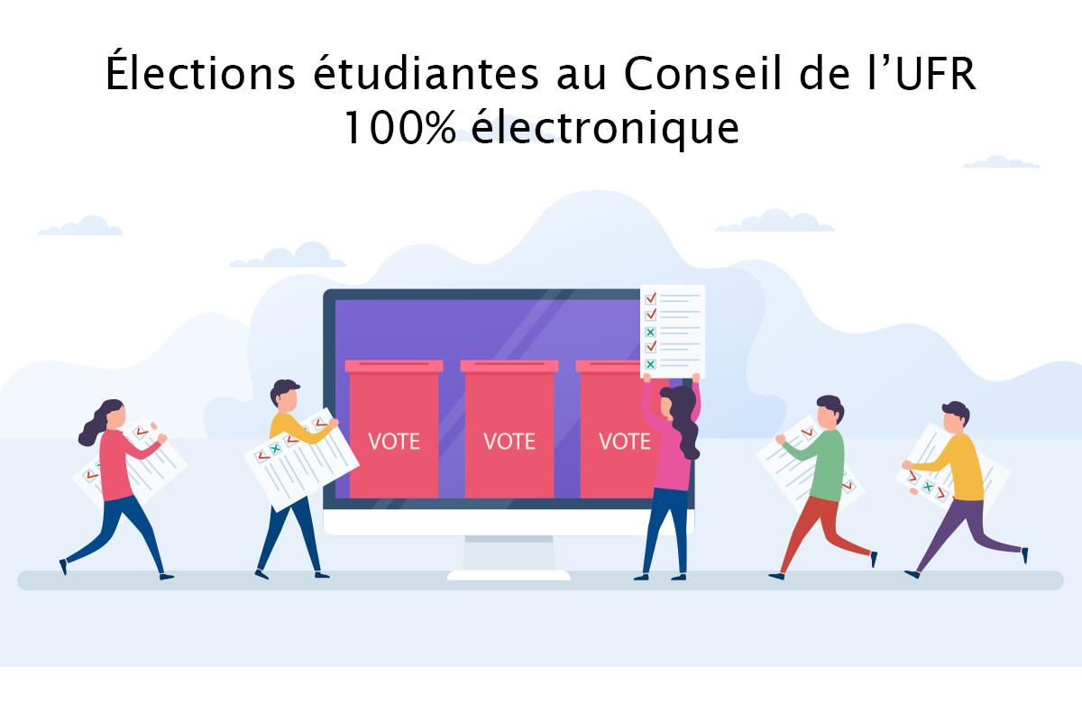 Visuel élections électroniques