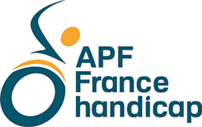 Logo APF France Handicap